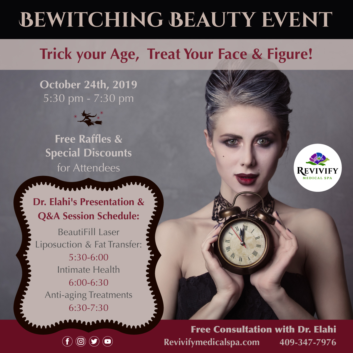 free-bewitching-beauty-event-2019-revivify-medical-spa-beaumont-texas
