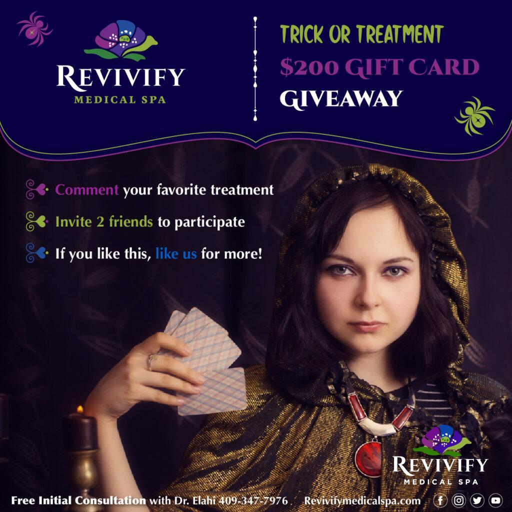 Trick or Treatment $200 Gift Card Giveaway