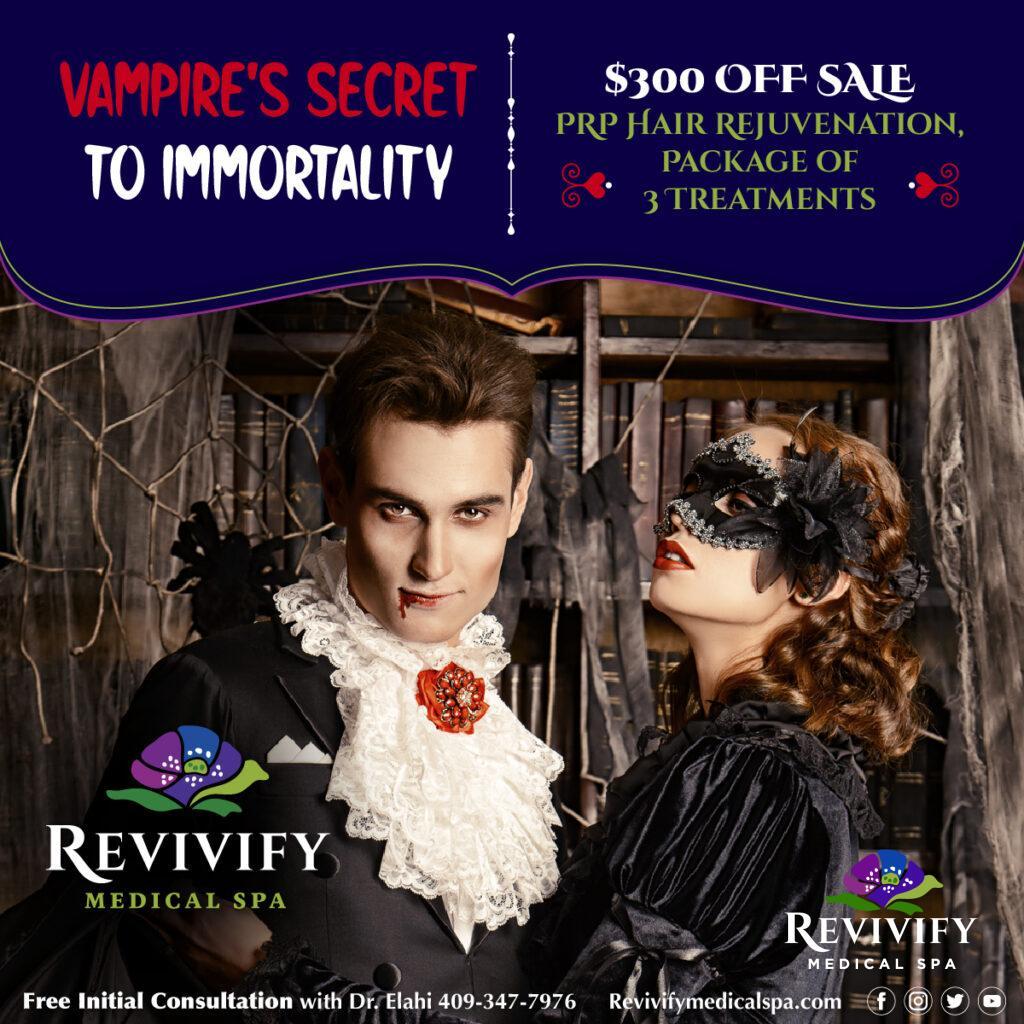 Vampires Secret Hair Immortality