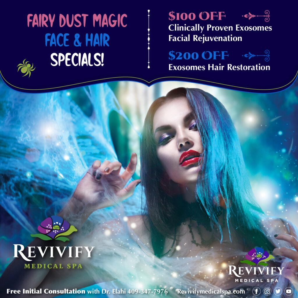 Fairy Dust Exosomes Face and Hair Specials
