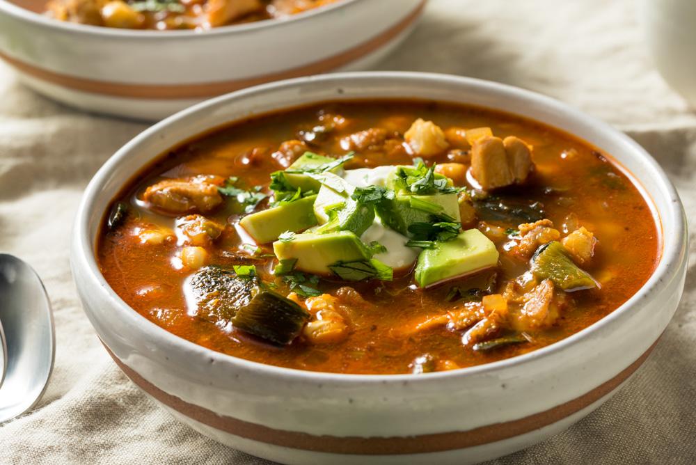chicken avocado soup Delicious Keto Soup Recipes