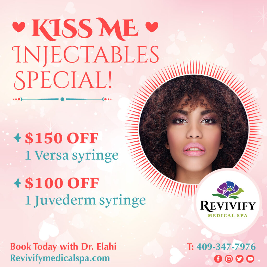 Injectables Special Valentines Medical Spa Specials 2021 Beaumont Texas