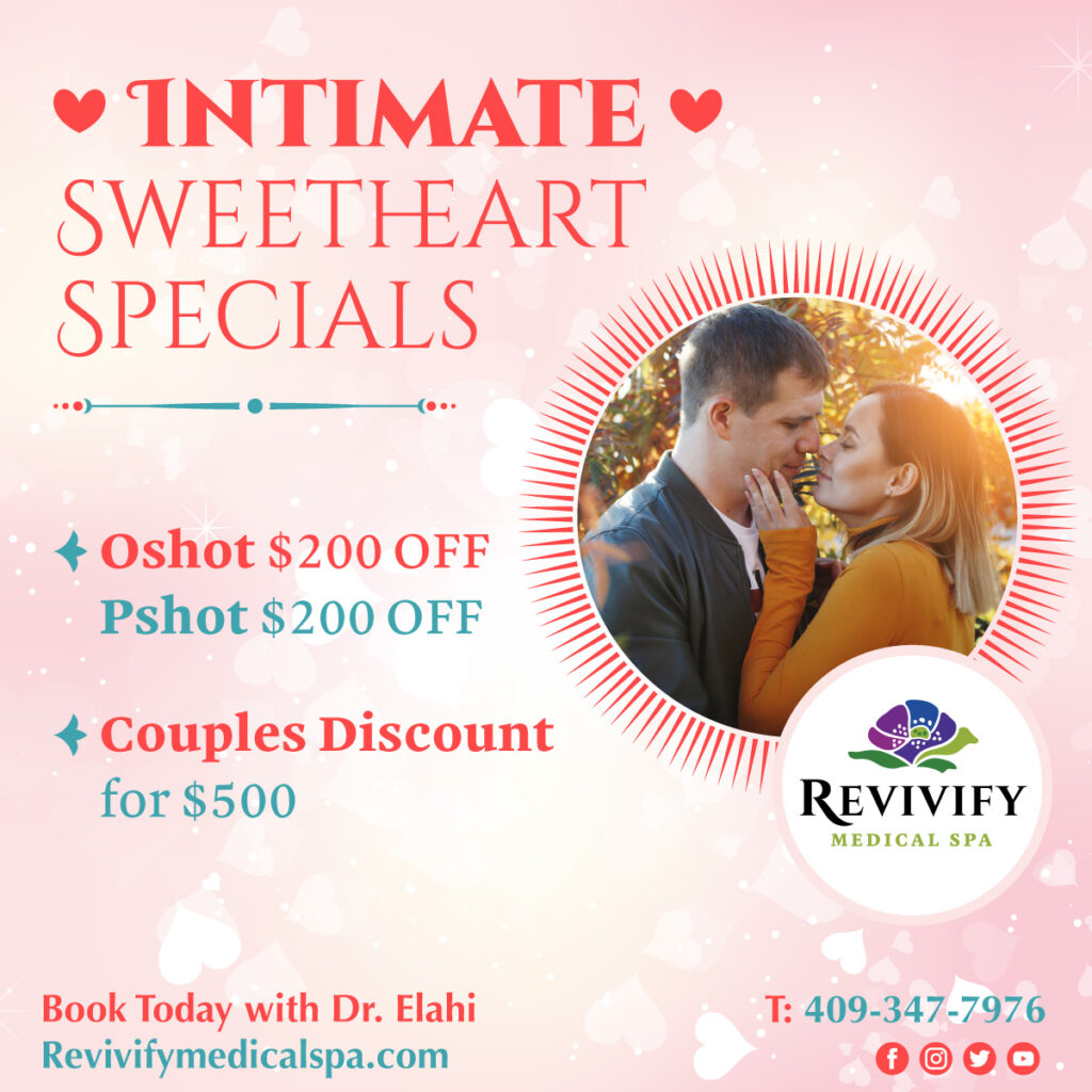 Intimate Sweetheart O Shot P Shot Specials Valentines Medical Spa Specials 2021