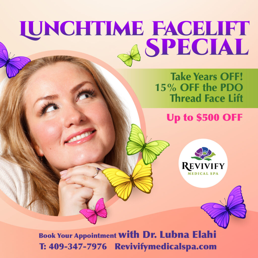 lunchtime facelift special pdo thread beaumont texas