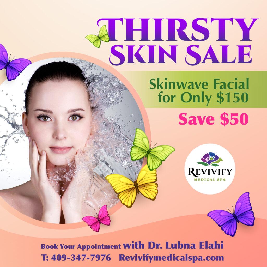 Facial Recovery Specials skinwave facial sale